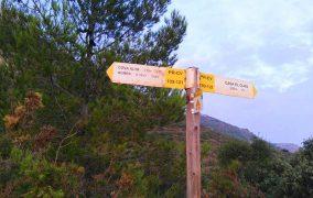 Rutas de senderismo en Agullent
