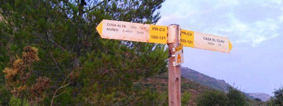 Rutes de senderisme a Agullent