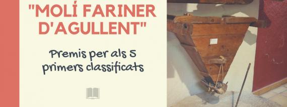 "I Concurs de microrelats ""Molí Fariner"""
